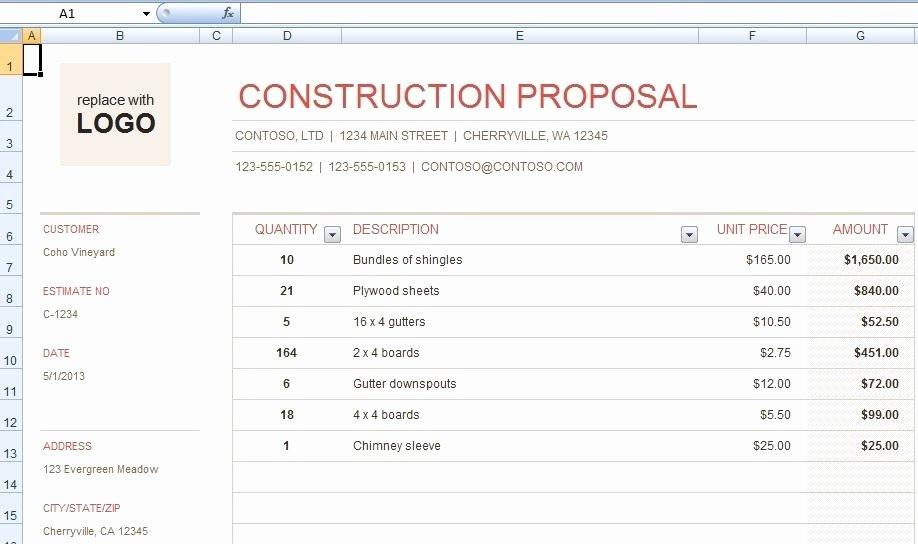 Hvac Proposal Templates Free Awesome Free Hvac Bid Proposal Template – Free Hvac