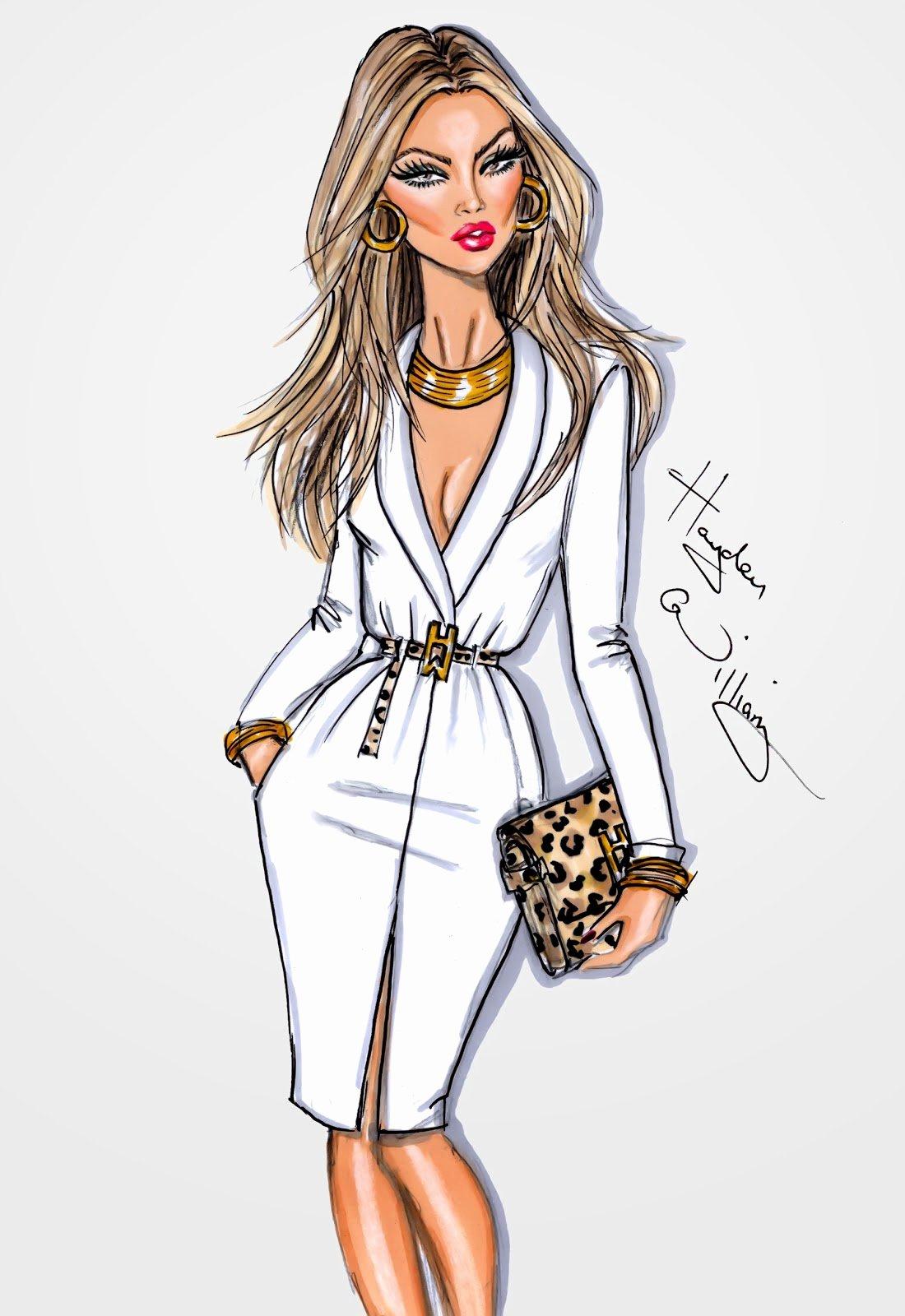 I Draw Fashion Awesome Harleen Bharj Hayden Williams