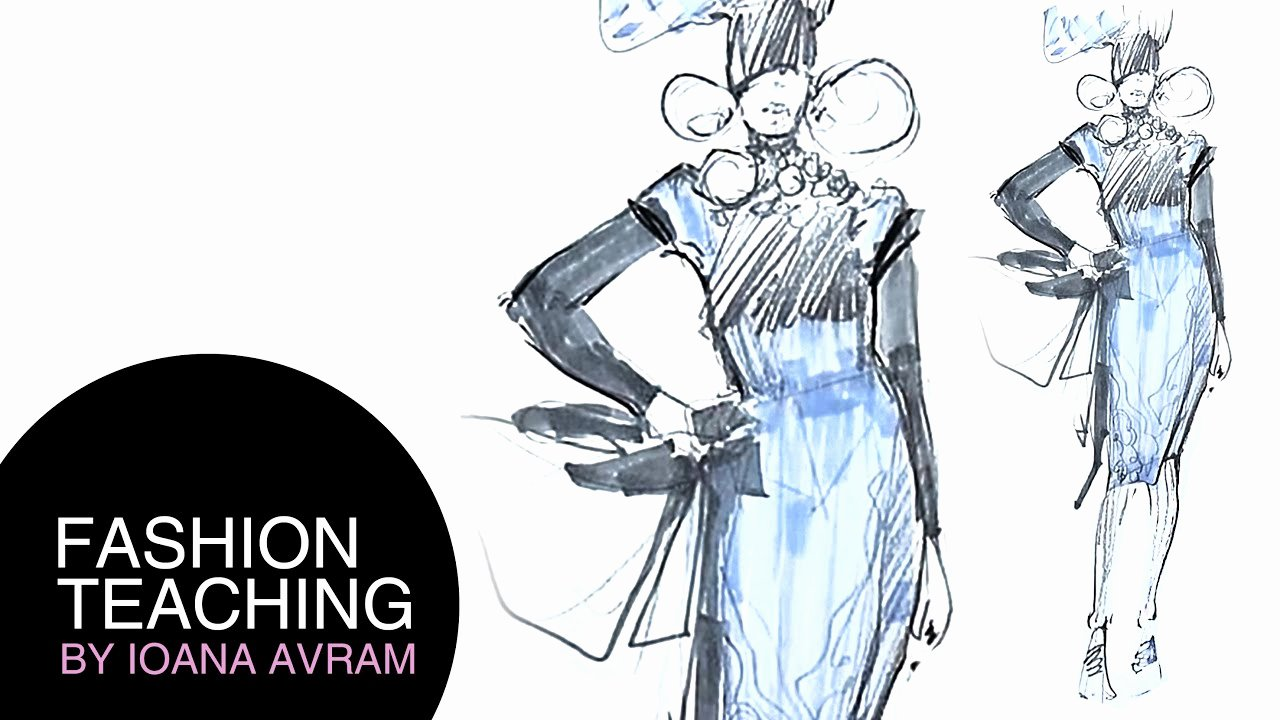 I Draw Fashion Best Of How to Draw A Fashion Sketch Step by Step for Beginners