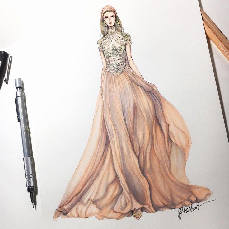 I Draw Fashion Elegant Best 25 Beautiful Sketches Ideas On Pinterest