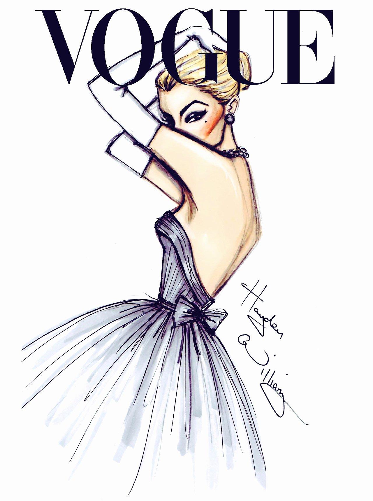 I Draw Fashion Elegant Fashion Illustration Fashionaryhand Hayden Williams