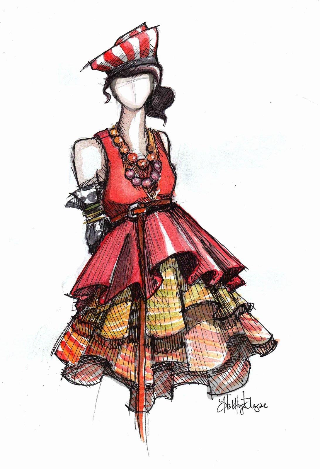 I Draw Fashion Fresh Night Owl News Fashion Illustration