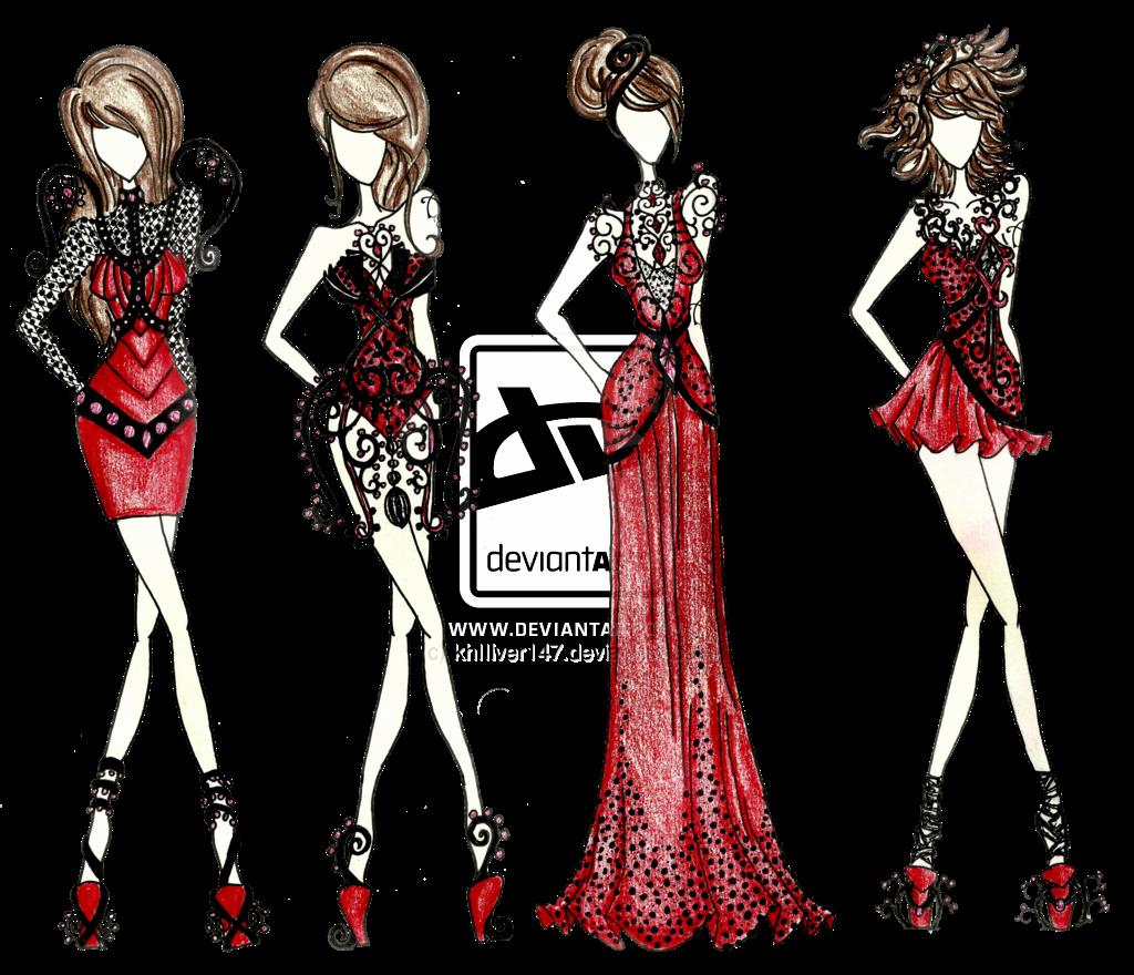 I Draw Fashion Luxury Scholar Gypsy Princess Fashion