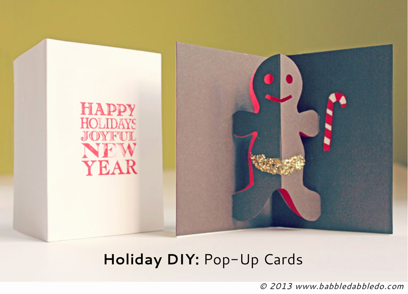 I Love You Pop Up Card Template Awesome Diy Holiday Pop Up Cards Babble Dabble Do