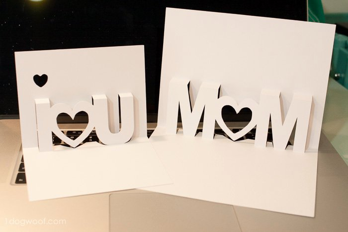 I Love You Pop Up Card Template Luxury 23 Of Mom U Pop Card Template
