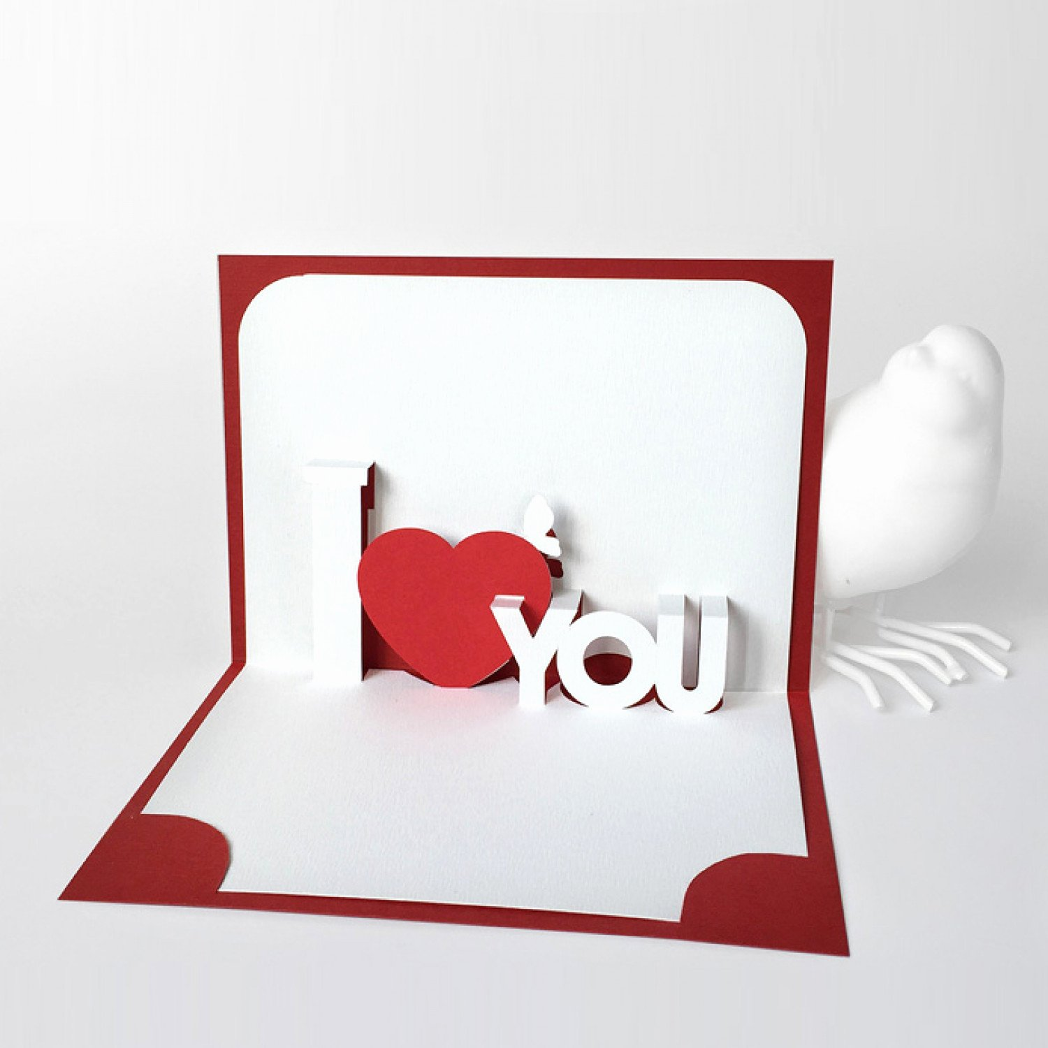 I Love You Pop Up Card Template Luxury Template Pop Up Card I Love You