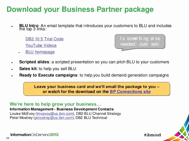 Ibm Business Card Template Awesome Ibm Accelerating Analitics with Blu