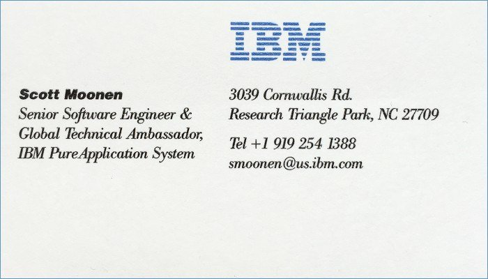 Ibm Business Card Template Awesome Ibm Business Card Template – Unique Ibm Business Card