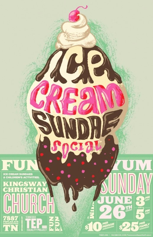 Ice Cream social Flyer Template Beautiful 17 Best Ideas About Ice Cream Poster On Pinterest