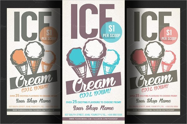 Ice Cream social Flyer Template Free Best Of 23 Promo Flyers Word Psd Ai Eps Vector