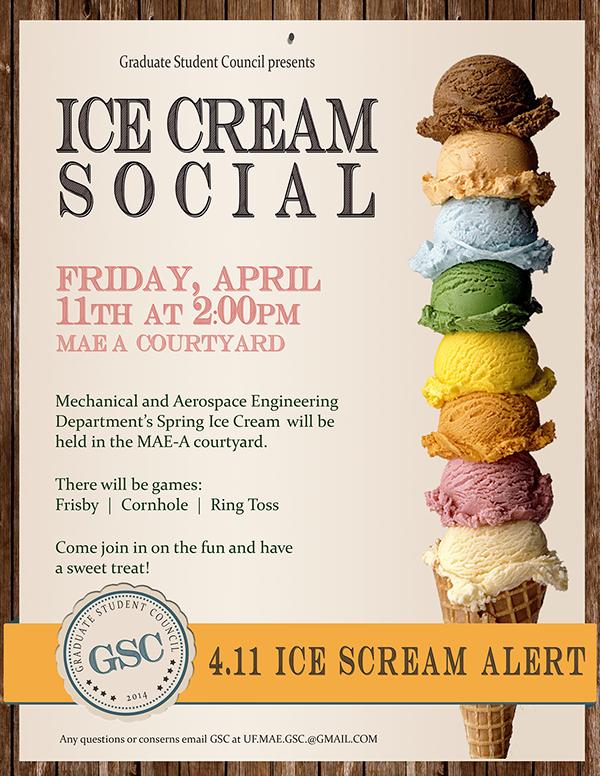 Ice Cream social Flyer Template Free Unique Print Ice Cream social Flyer On Behance