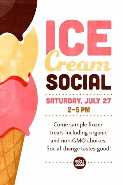 Ice Cream social Invite Template Fresh 19 Best Posters Images On Pinterest