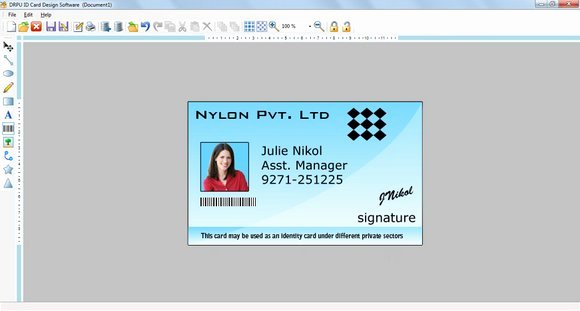 Id Card Template Photoshop New Free Download Shop Id Cards Templates