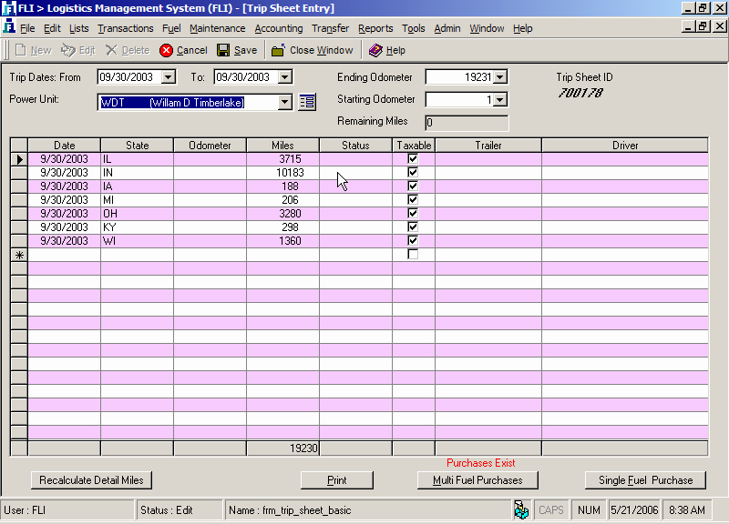Ifta Trip Sheet Template Inspirational Fli solutions Fuel Tax Overview