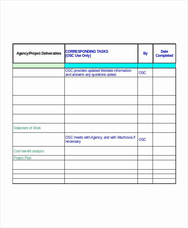 Implementation Plan Template Excel Fresh Excel Project Plan Template 10 Free Excel Document