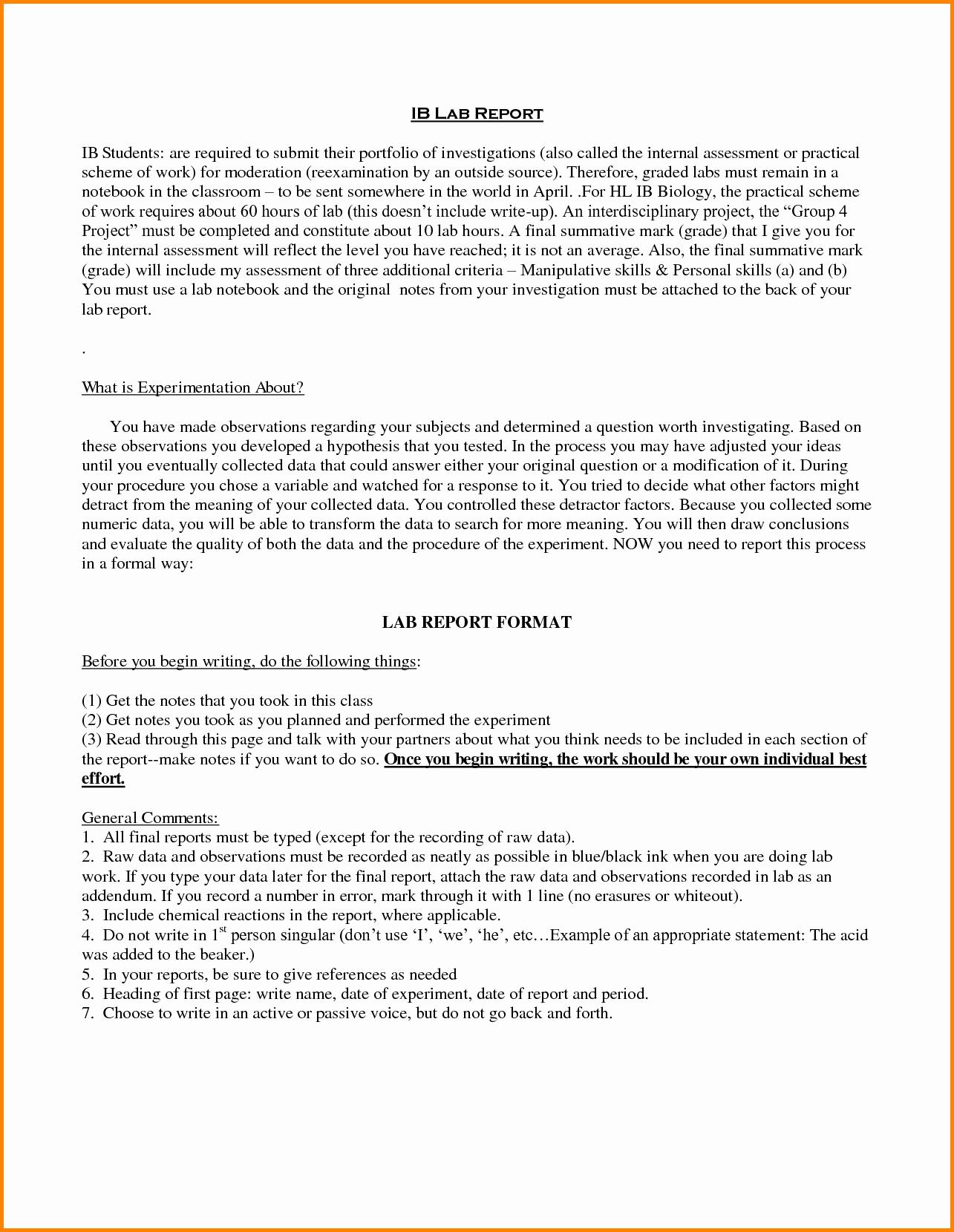 Incident Statement Letter Sample Unique Sample Report Letter to Management