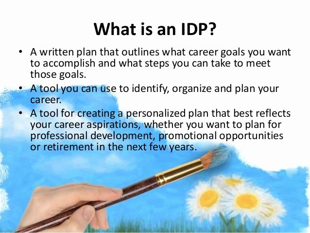 Individual Professional Development Plan Sample Elegant why Have An Idp