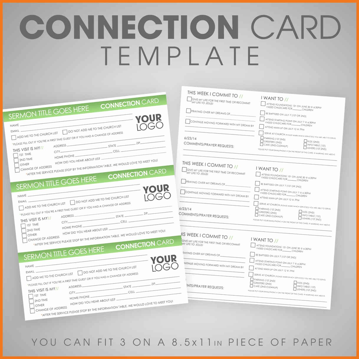 Info Card Template Awesome 7 8 Information Card Template