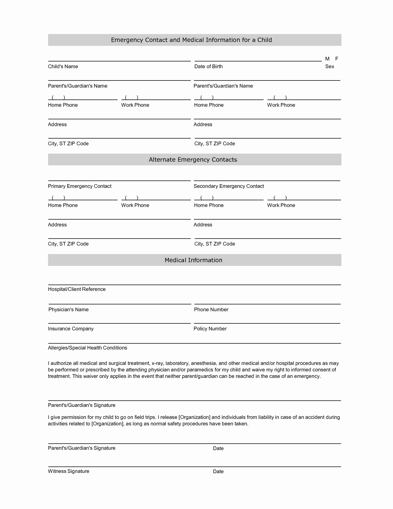 Information form Template Elegant Free Student Information Sheet Template