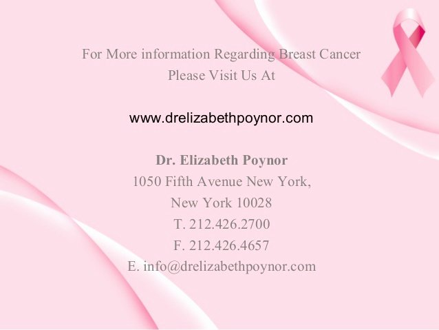 Informative Speech On Breast Cancer Lovely Things to Know About Breast Cancer Causes