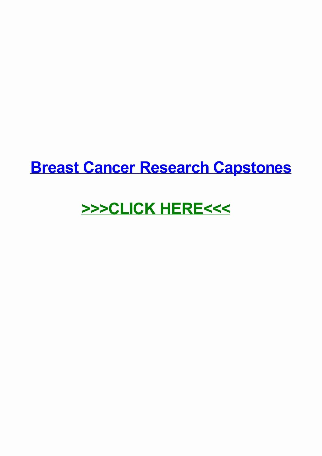Informative Speech On Breast Cancer Luxury Breast Cancer Research Capstones by Jennie Bacote issuu