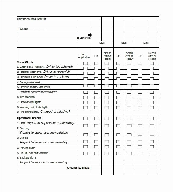 Inspection Log Sheet Fresh Aed Monthly Inspection Log