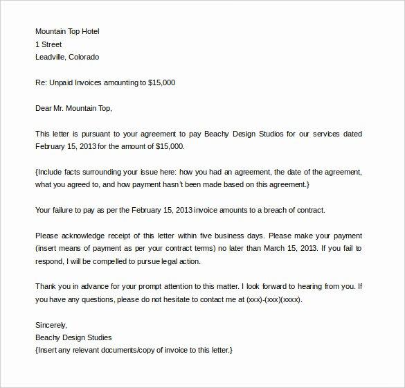 Insurance Demand Letter Beautiful Pensation Letter for Damages