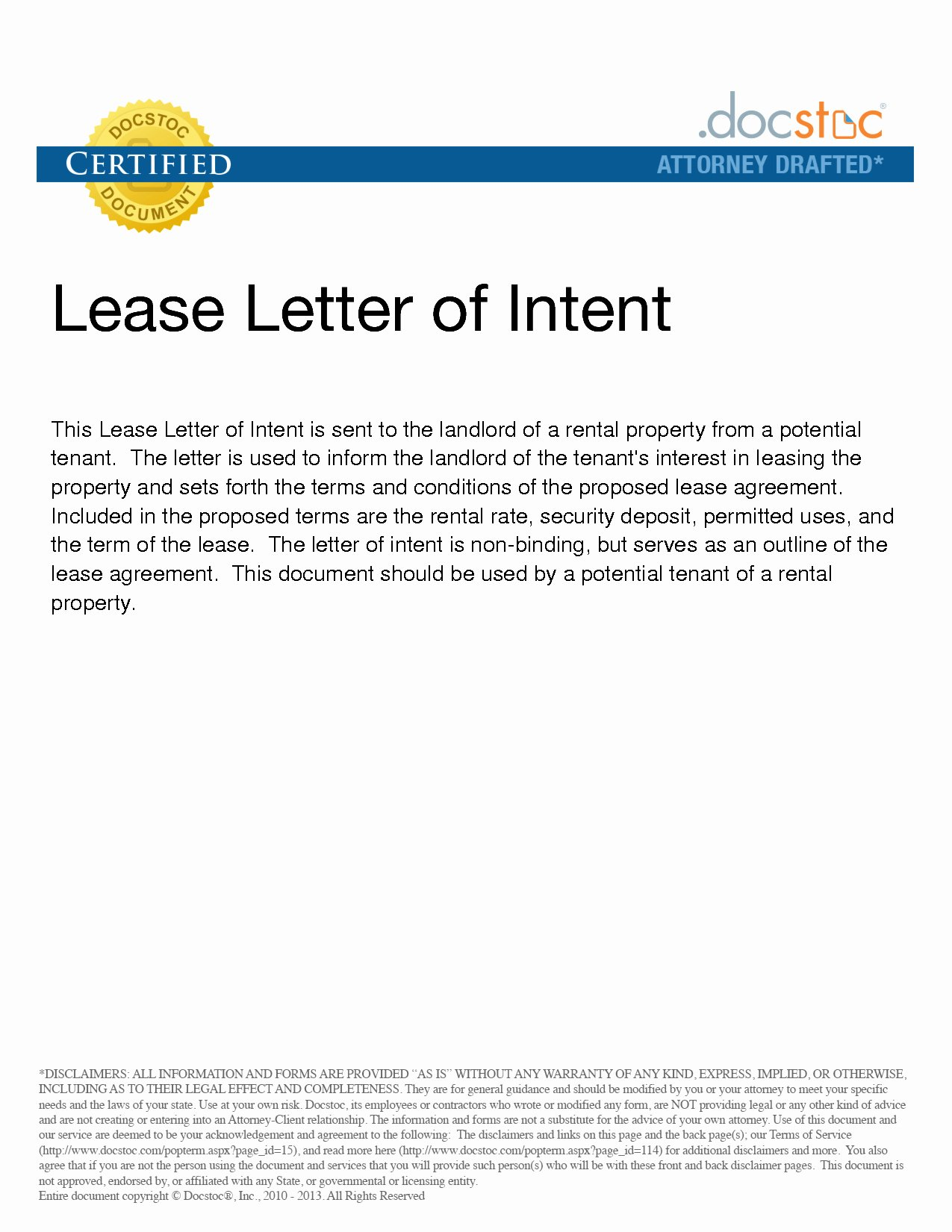 Intent to Rent Letter Awesome Letter Intent to Lease Mercial Property Template
