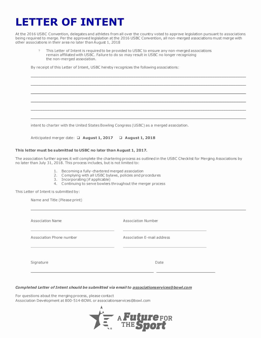 Intent to Rent Letter Best Of 40 Letter Of Intent Templates & Samples [for Job School