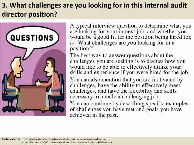 Internal Auditor Interview Questions Beautiful top 10 Internal Audit Director Interview Questions and Answers