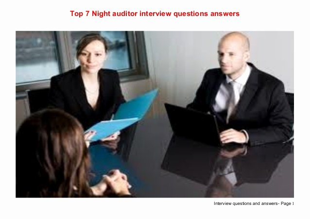 Internal Auditor Interview Questions Beautiful top 7 Night Auditor Interview Questions Answers