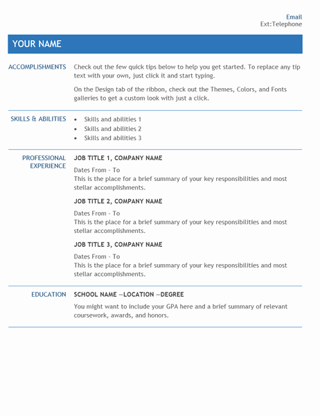 Internal Job Posting Email Template Best Of Resume for Internal Pany Transfer