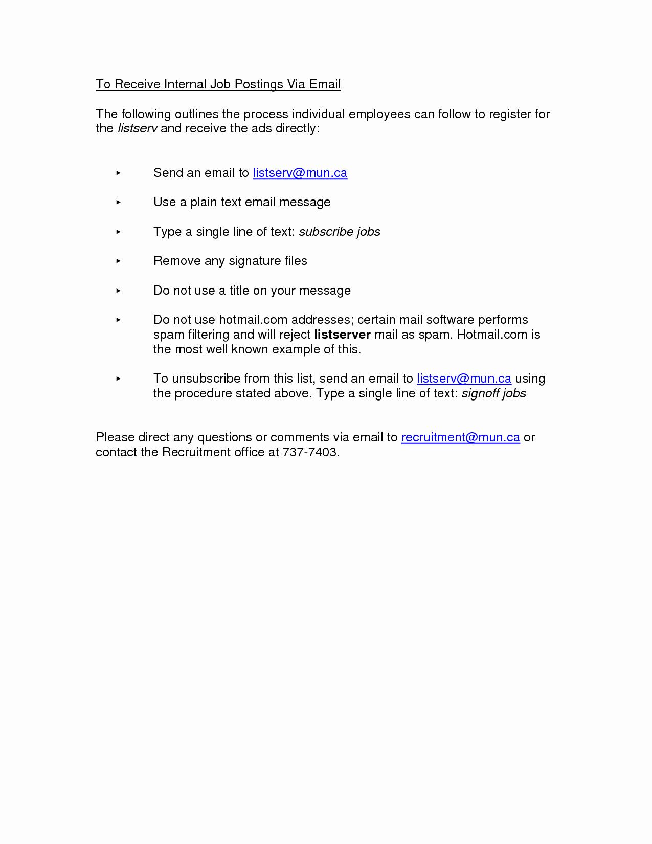 Internal Job Posting Email Template Elegant Best S Of Job Posting Ideas Job Posting Sites