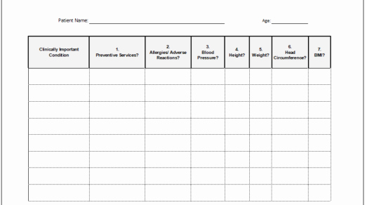 Internal Medicine Progress Note Template Unique Return to Work form Templates for Ms Word
