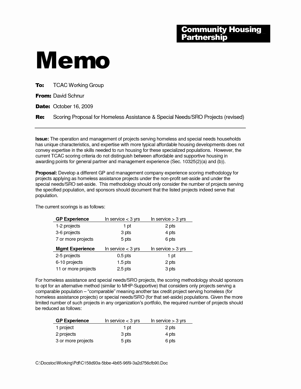 Internal Proposal Template Awesome Best S Of Project Management Memo Template Sample