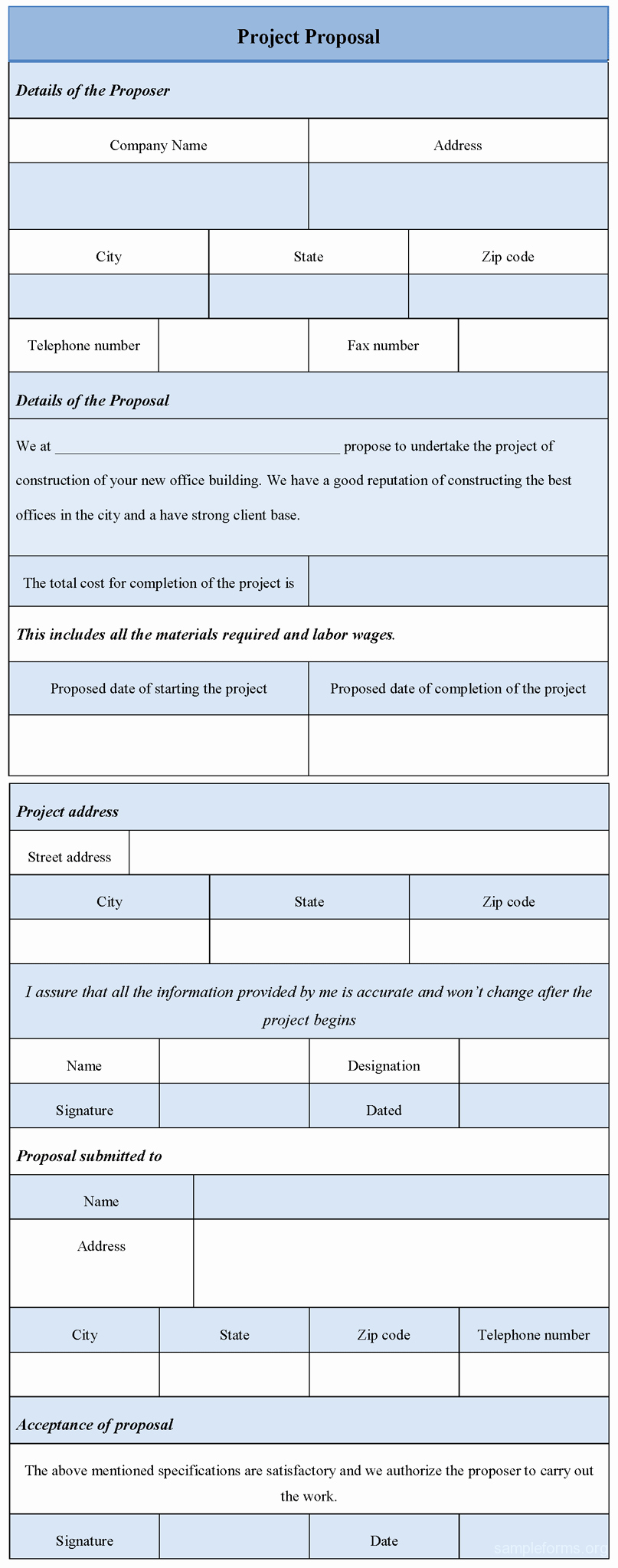 Internal Proposal Template Beautiful Ponents Of A Project Proposal