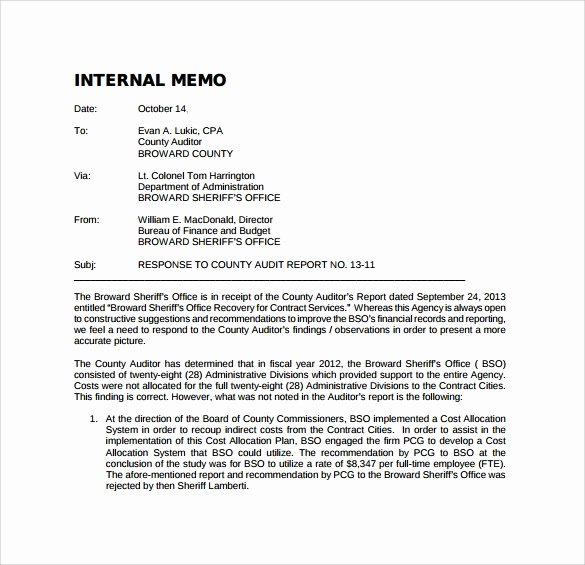 Internal Proposal Template Best Of 12 Internal Memo Templates