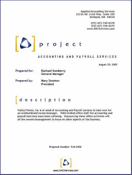 Internal Proposal Template Best Of 6 Project Proposal Templates