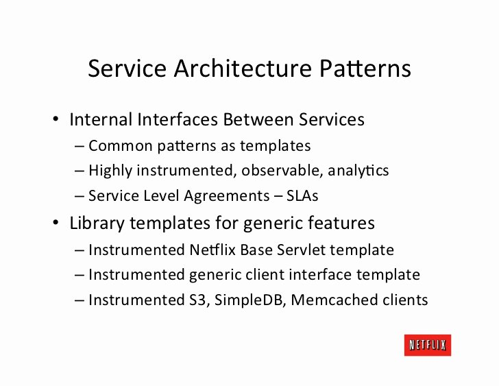 Internal Service Level Agreement Template Best Of Cloud Architecture Tutorial Platform Ponent