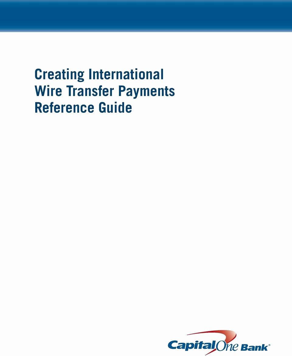 International Wire Transfer form Template Lovely Creating International Wire Transfer Payments Reference
