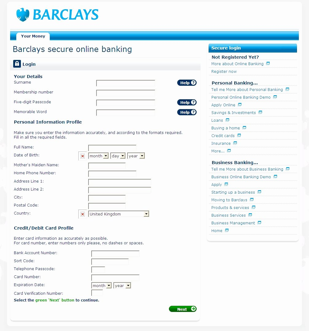 International Wire Transfer form Template New Barclays Line Statement Best Template Collection