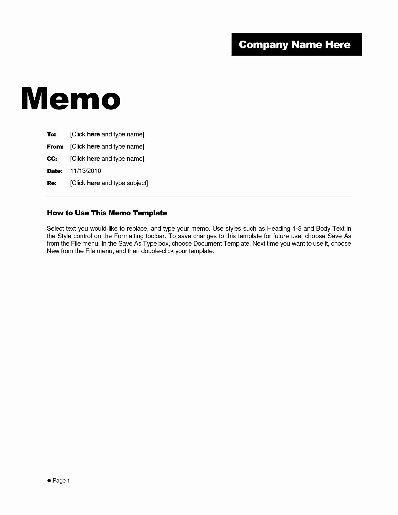 Interoffice Envelope Template Awesome Business Memo format Microsoft Word