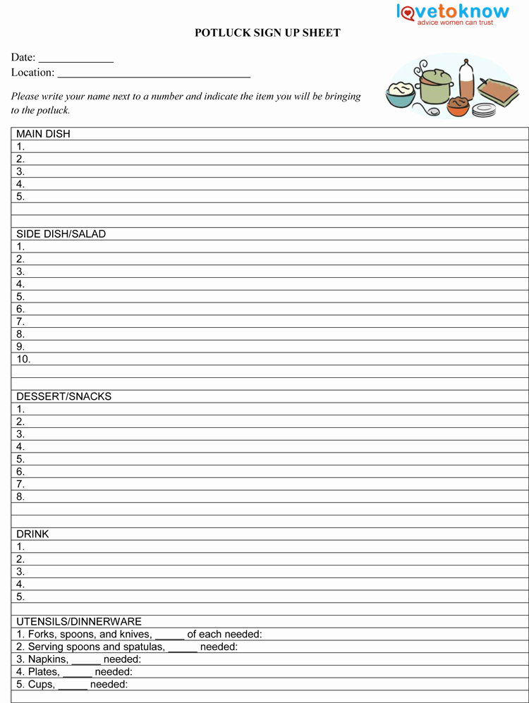 Interoffice Routing Slip Template Beautiful Potluck Template Excel Download Free Apps