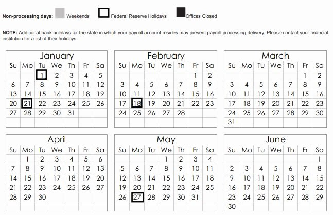 Intuit Payroll Holiday Calendar 2019 Lovely Intuit Payroll Holiday Calendar
