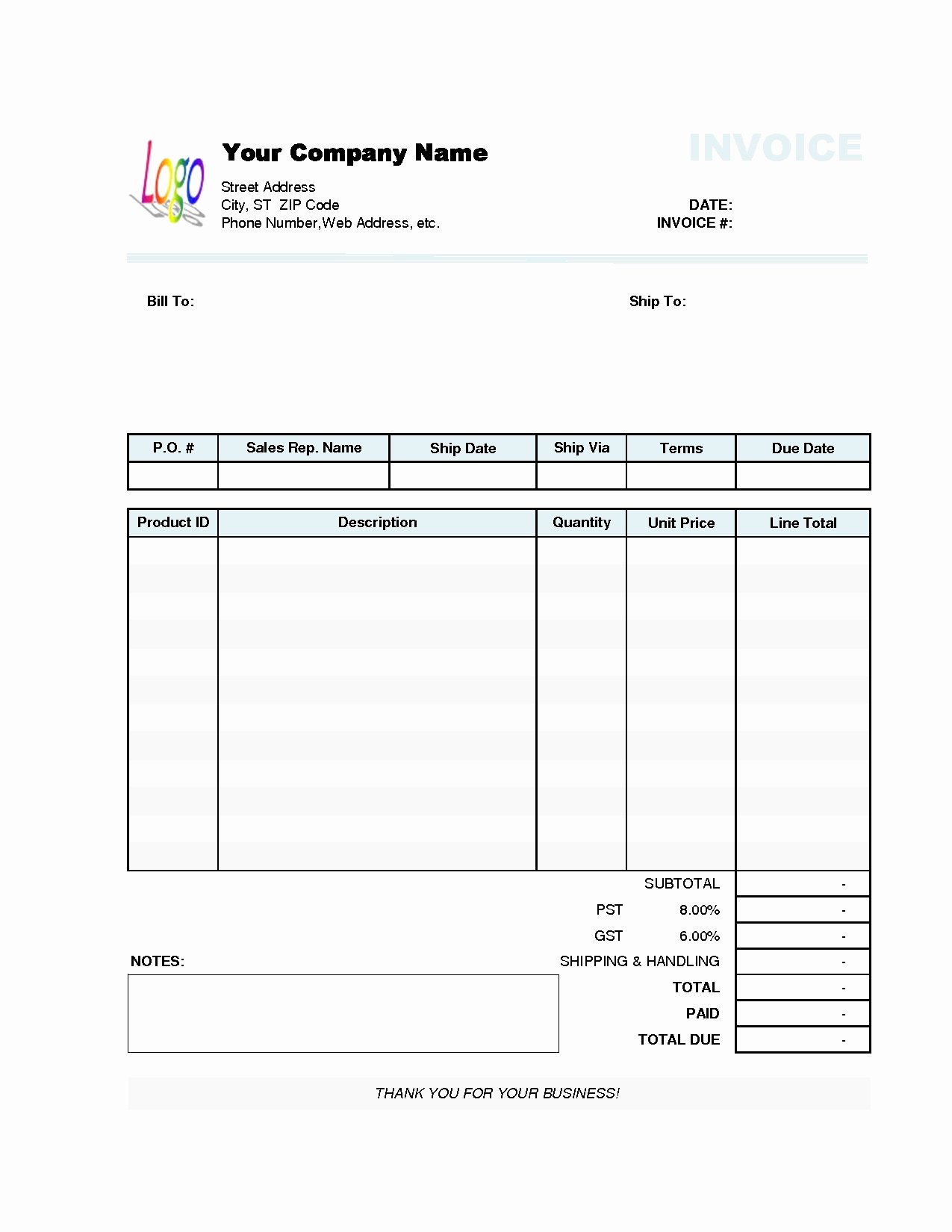 Invoice Template Word 2010 Best Of Invoice Template Word 2010 13 Reliable sources to Learn