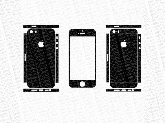 iPhone 6 Skin Template Pdf Beautiful iPhone 5s Skin Cut Template Templates for Cutting or