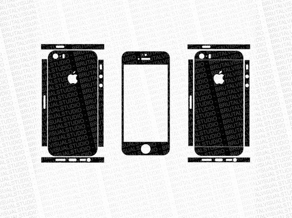iPhone 6 Skin Template Pdf Beautiful iPhone 5s Skin Cut Template Templates for Cutting or