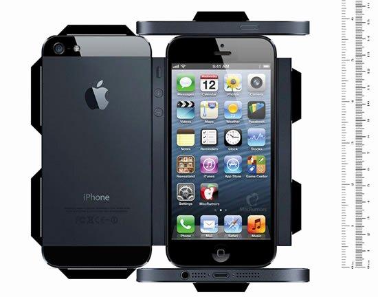 iPhone 6 Skin Template Pdf Elegant Macrumors、5インチになった「iPhone」の大きさを体感出来る実物大のペーパークラフトを公開