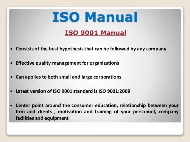 Iso 9001 Work Instruction Template Elegant why Does Require Different Types Of iso Documentation Template