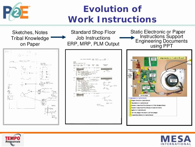 Iso Work Instruction Template Awesome Mesa Speaker Presentation 8 28 08 Pdf